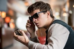 Baby Driver: Ansel Elgort