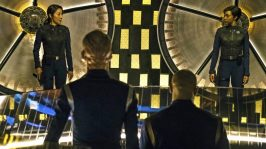 Star Trek Discovery: Sonequa Martin-Green (Michael Burnham) si Michelle Yeoh (Philippa Georgiou)