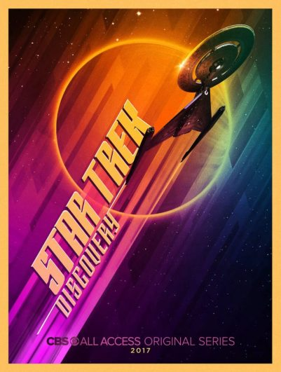 Star Trek Discovery Poster - Comic-Con 2017