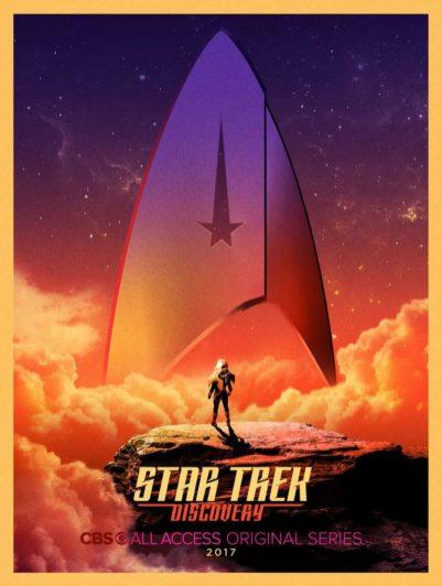 Star Trek Discovery Poster - Comic-Con 2017