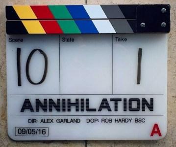 Alex Garland a inceput filmarile pentru continuarea SF Annihilation