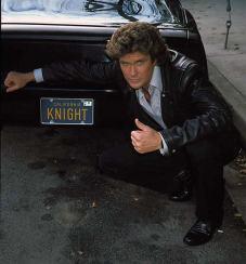David Hasselhoff, în rolul lui Michael Knight (1982)