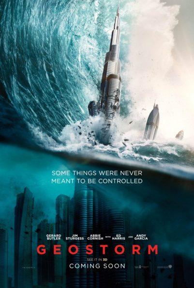 Poster Geostorm (2017)