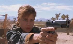 Linda Hamilton in Terminator