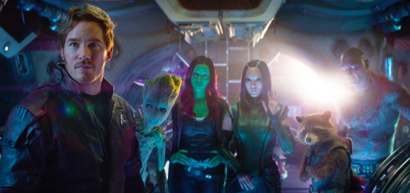 Avengers: Infinity War - Guardians Of The Galaxy