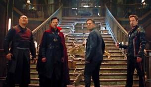 Avengers: Infinity War - Bruce Banner, Tony Stark, Doctor Strange