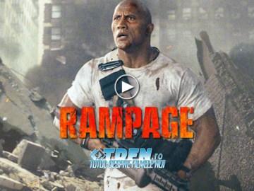 DWAYNE JOHNSON Se Luptă Cu Fiare Gigantice În Primul Trailer Pentru Filmul RAMPAGE