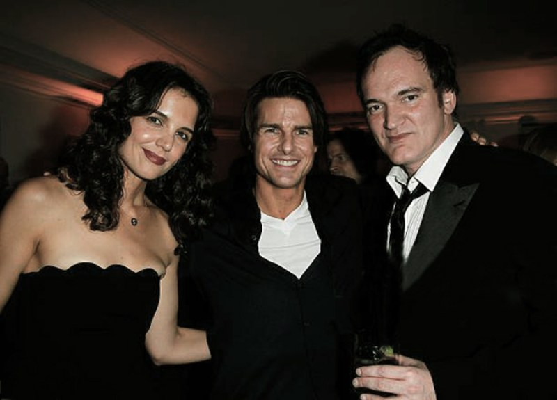 Katie Holmes, Tom Cruise si Quentin Tarantino
