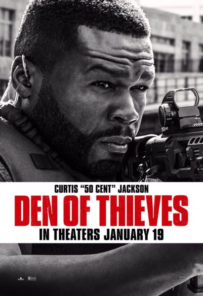 "Poster Den Of Thieves: Curtis ""50 Cent"" Jackson"
