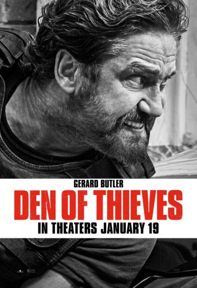 Poster Den Of Thieves: Gerard Butler