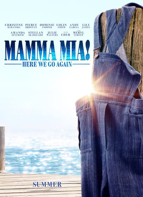 Poster Mamma Mia: Here We Go Again