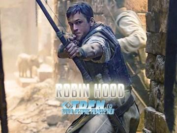 Vezi Primele Imagini Cu TARON EGERTON În Rolul ROBIN HOOD Din Noul Film De Origine