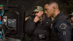 Regizorul David Ayer si Will Smith
