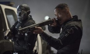 Will Smith şi Joel Edgerton in BRIGHT (2017)