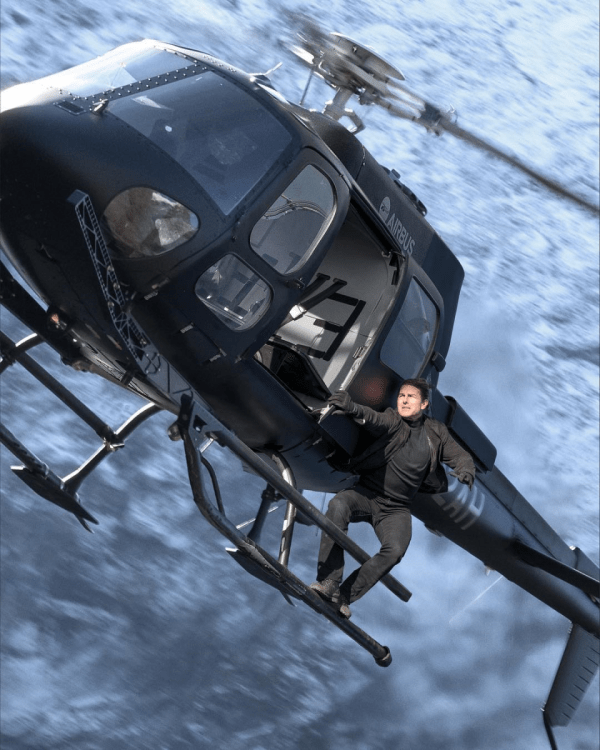 Tom Cruise în Mission: Impossible - Fallout