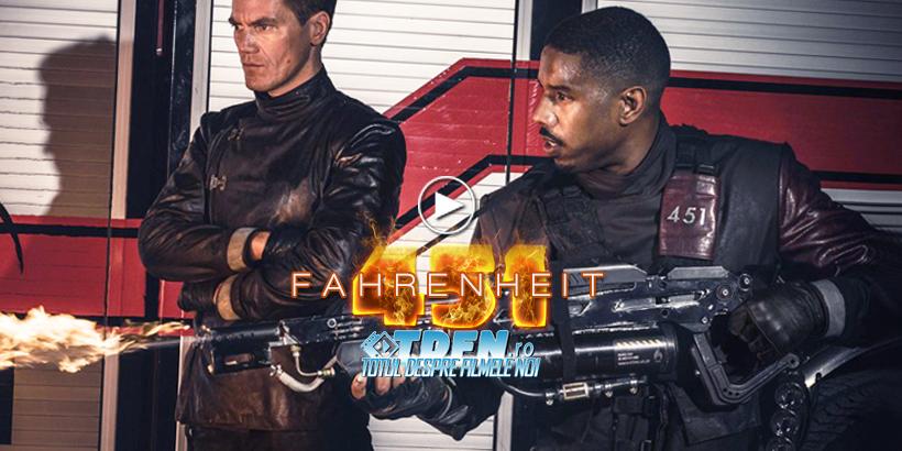 Trailer Complet FAHRENHEIT 451 Distopia SF Dintr-un Viitor Fără Cărți
