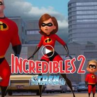Noul Trailer INCREDIBLES 2 Prezintă Prima Familie De Super-Eroi De La Pixar