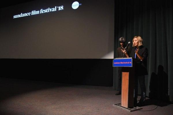 Cathy Yan la festivalul de film Sundance 2018