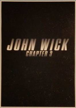 John Wick Chapter 3 Promo
