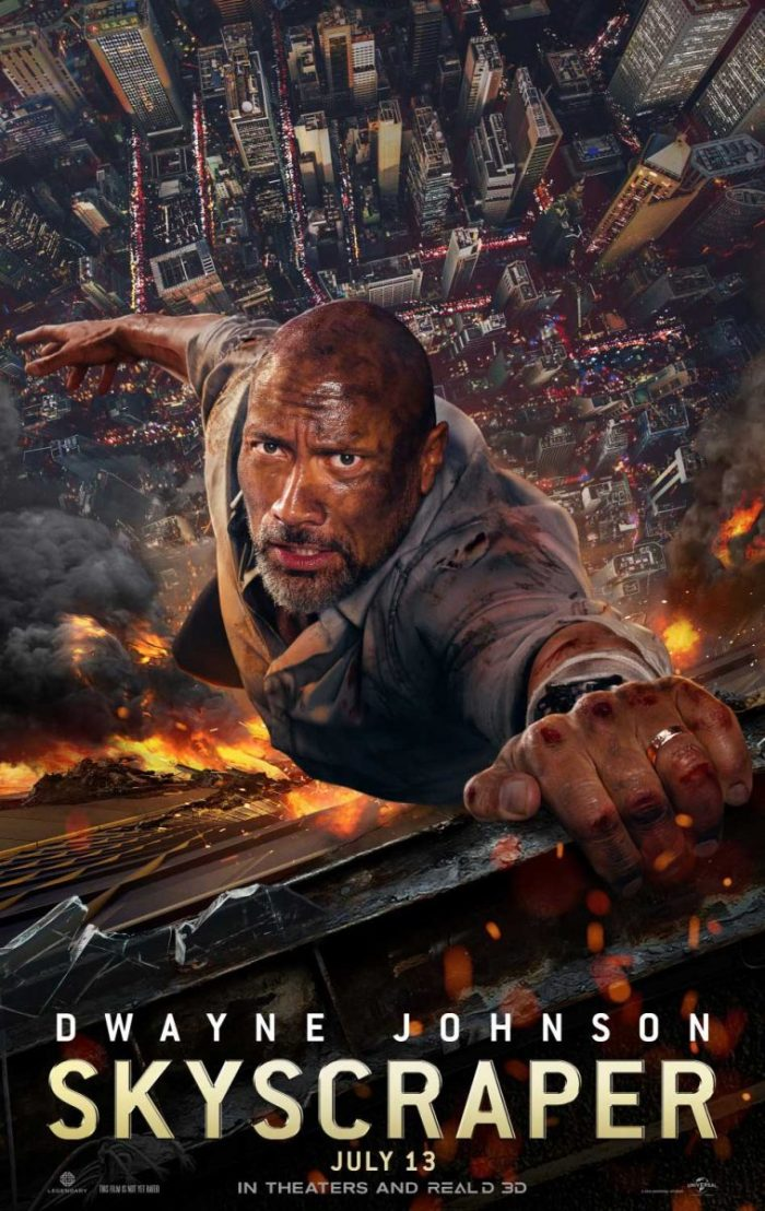 Poster SKYSCRAPER (2018) Dwayne Johnson