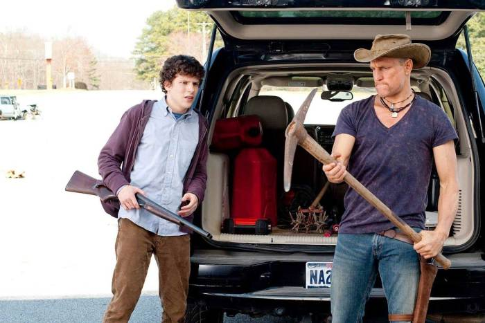 Woody Harrelson, Jesse Eisenberg: Zombieland (2009)