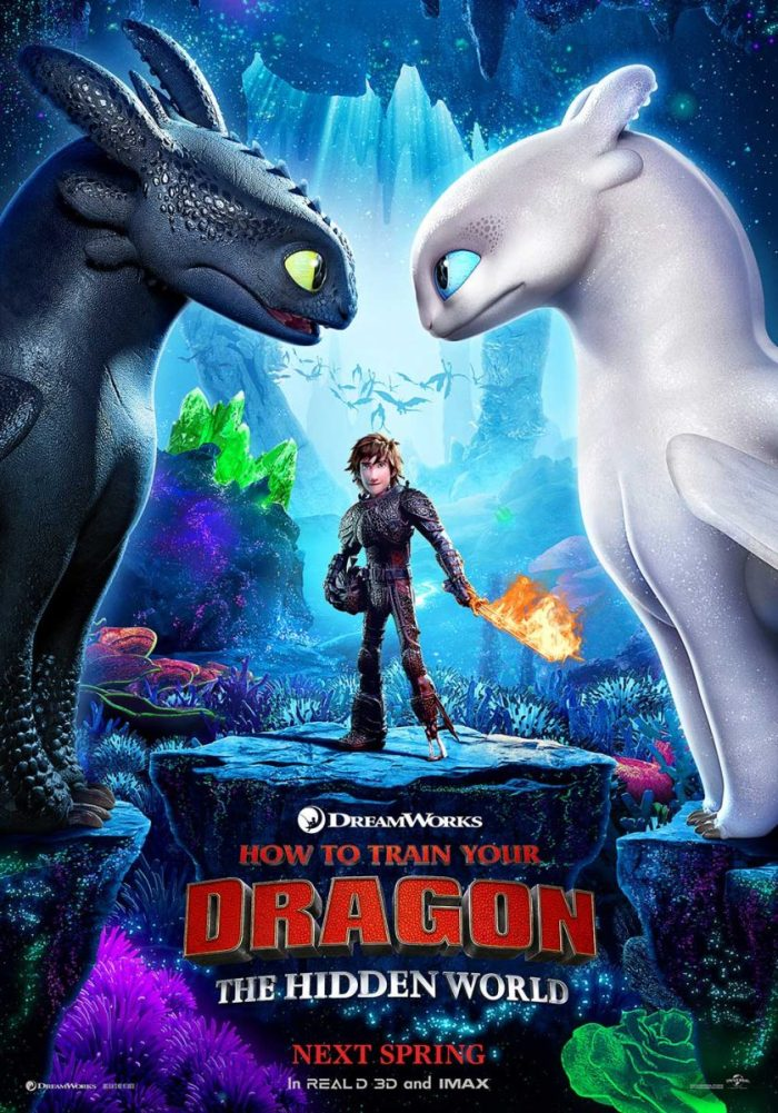 Poster How To Train Your Dragon: The Hidden World (2018)
