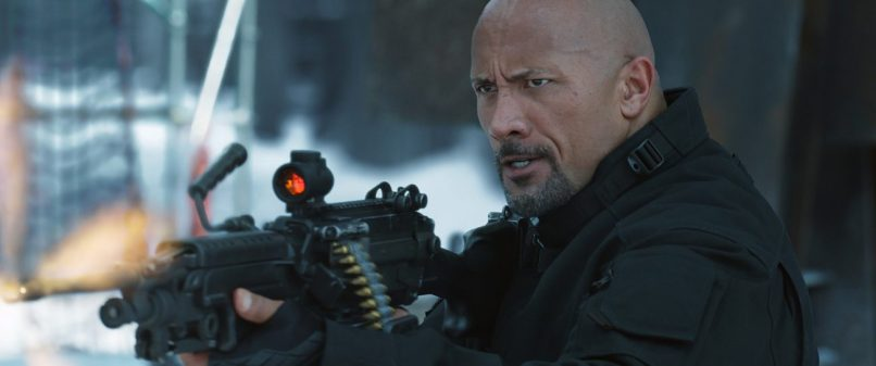 "DWAYNE JOHNSON stars as Hobbs in ""The Fate of the Furious."""