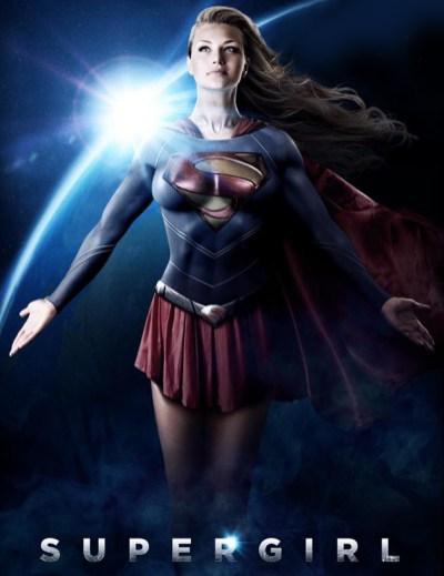 Poster făcut de către fani pentru Supergirl
