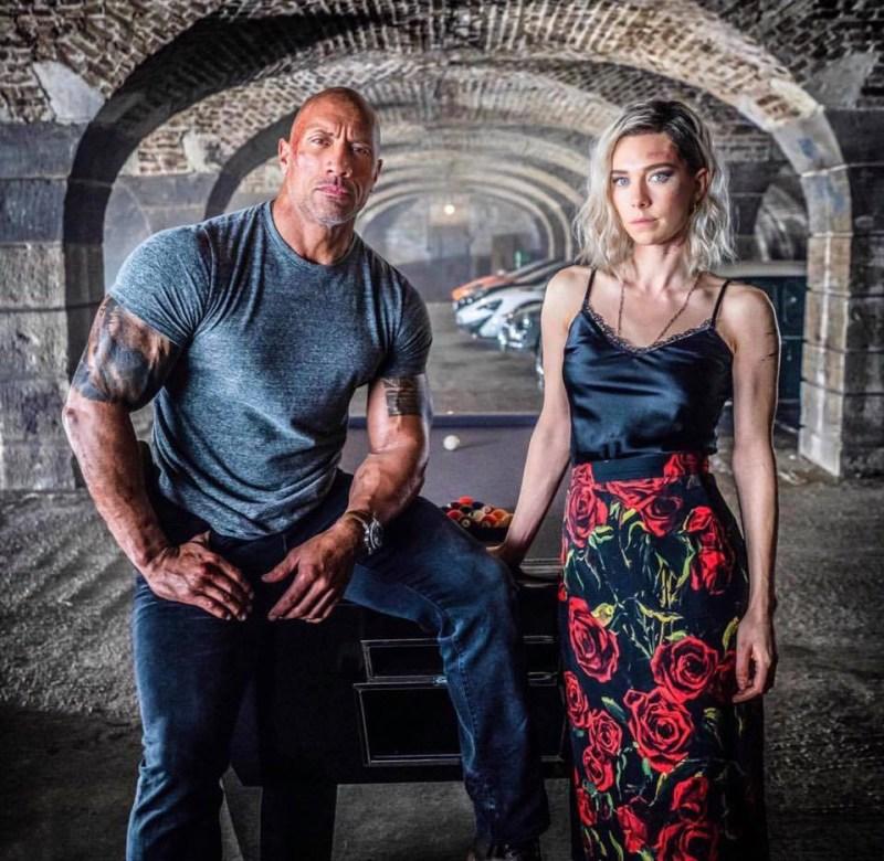 Dwayne Johnson (Luke Hobbs) si Vanessa Kirby (Hattie Shaw)