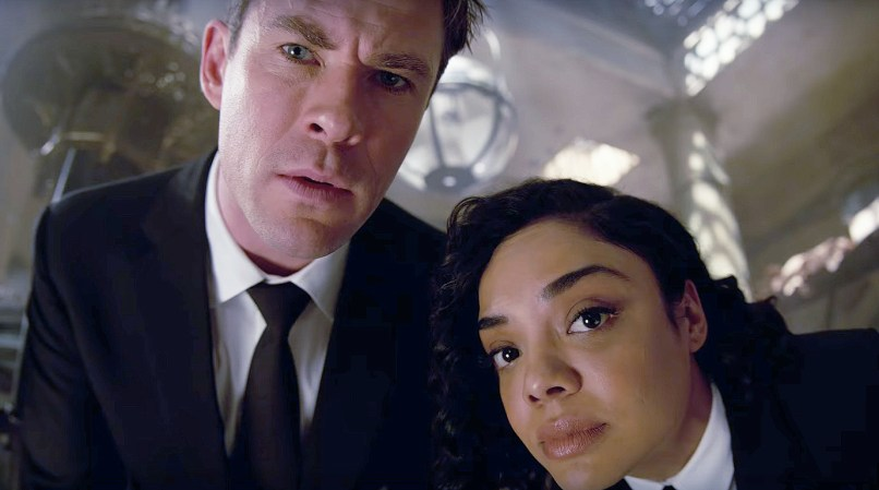 Men In Black: International - Chris Hemsworth și Tessa Thompson