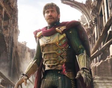 Personajul Mysterio, interpretat de Jake Gyllenhaal