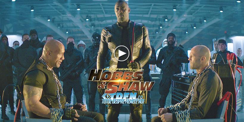 Primul Trailer HOBBS & SHAW Dezvăluie Multă Acţiune În Spinoff-ul FAST & FURIOUS