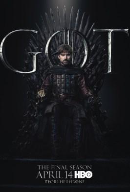 Poster Urzeala Tronurilor Sezonul 8: Jamie Lannister