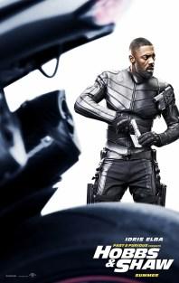Hobbs And Shaw Poster: Idris Elba
