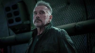 Arnold Schwarzenegger: TERMINATOR: DARK FATE.