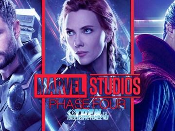 MARVEL STUDIOS Dezvăluie Toate Filmele Şi Serialele Extinse Pentru Faza Patru