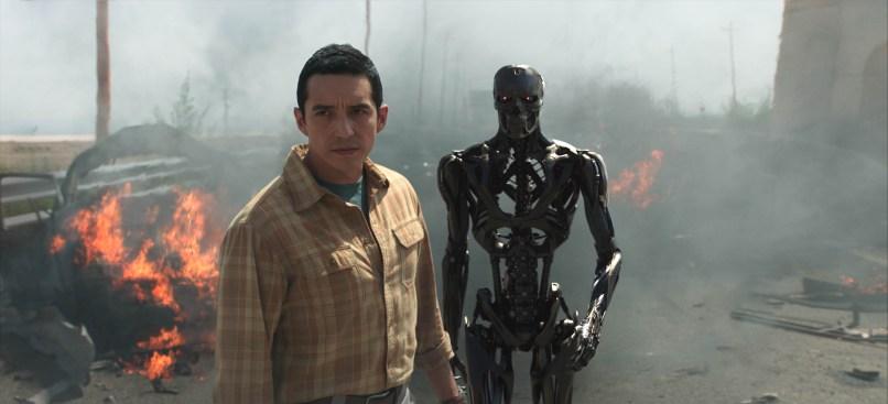 "Gabriel Luna (Rev 9; Ectoskeleton) - ""TERMINATOR: DARK FATE."""