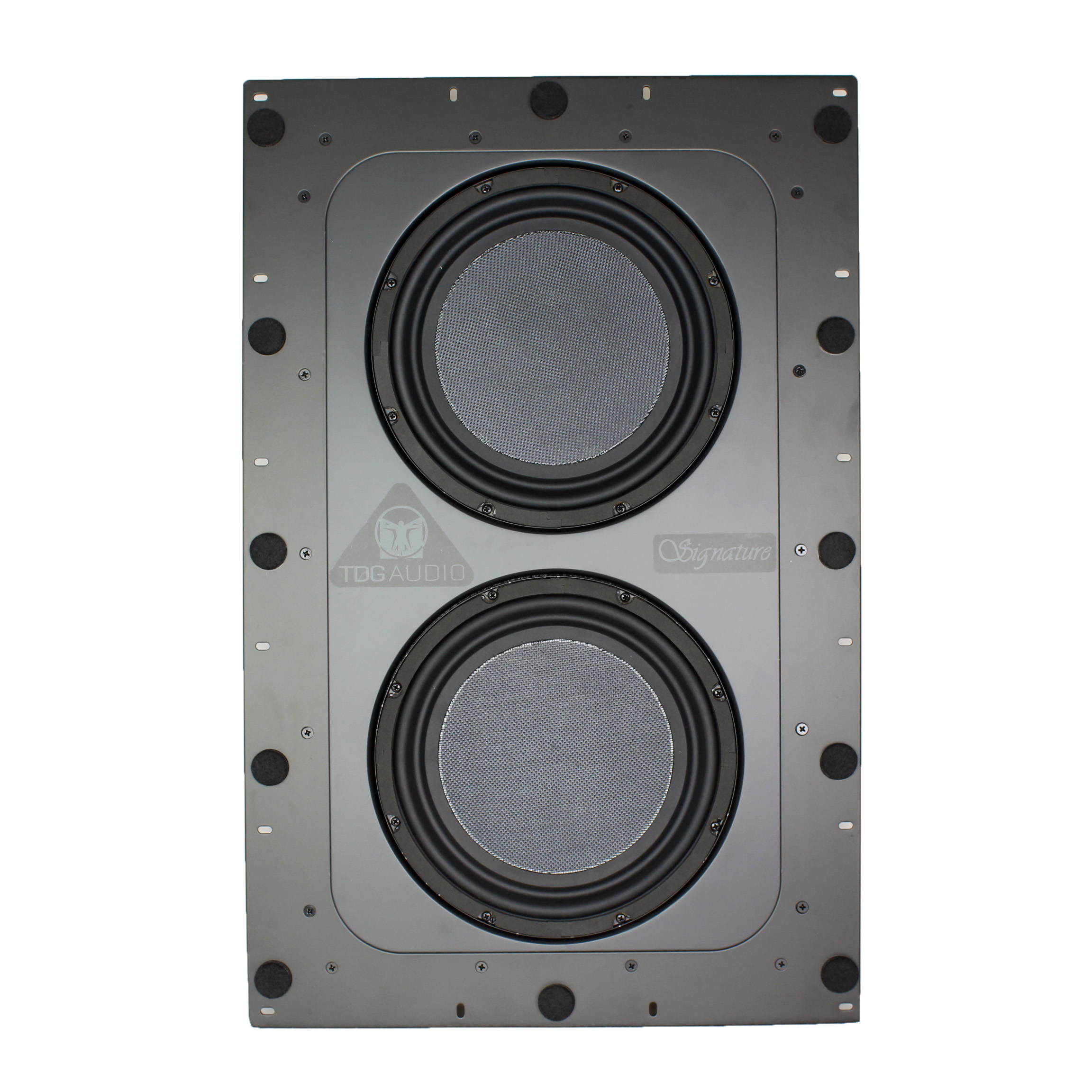 Dual 10″ In-Wall Subwoofer