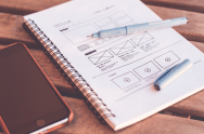 book with web design plan