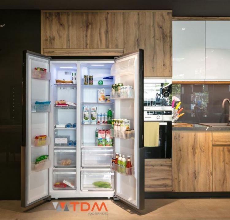 tủ lạnh Malloca