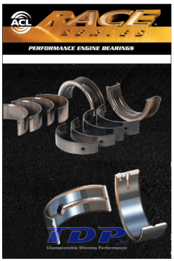 ACL RACE Series performance engine bearings