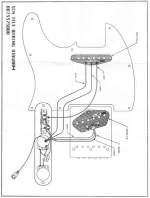 Fender Scn Wiring Diagram  Somurich