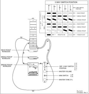 Nashville Deluxe Tele wiring question | Telecaster Guitar