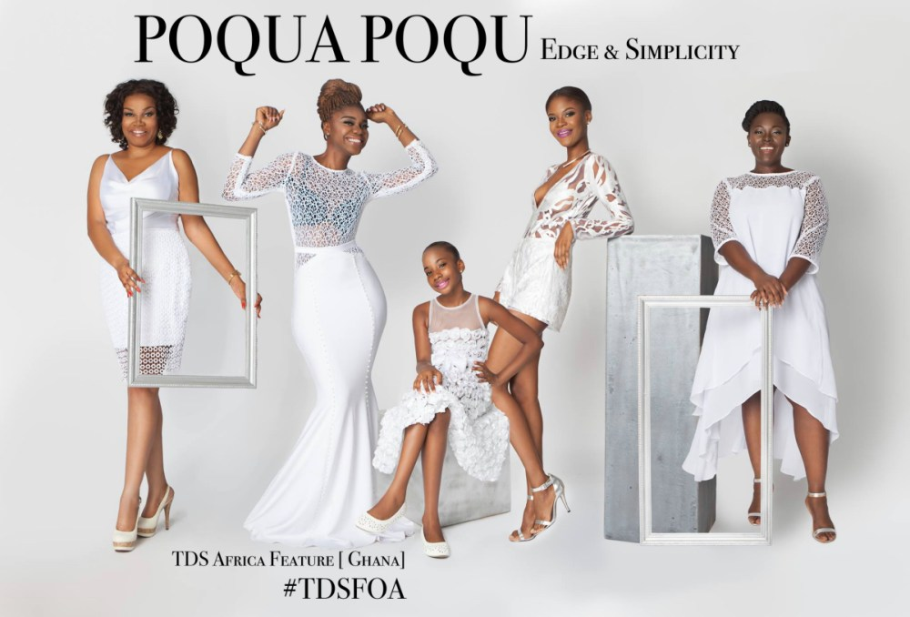 POQUA POQU is a Ghanaian based affordable luxury women's fashion brand. Here is what we find so charming about this brand; the simplicity in the designs celebrating women.