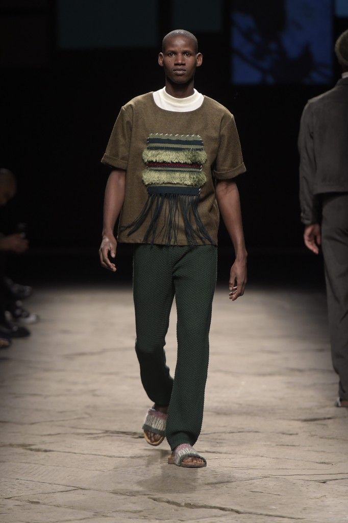 Lukhanyo Mdingi x Nicholas Coutts Look 02 Generation Africa © Giovanni Giannoni