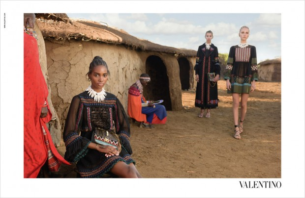 Valentino Spring Summer 2016 Ad Campaign (Photo by Steve McCurry/Courtesy of Valentino)