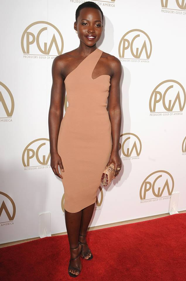 Lupita Nyong'o with a Chesneau creation [Image: Courtesy of LULEA]