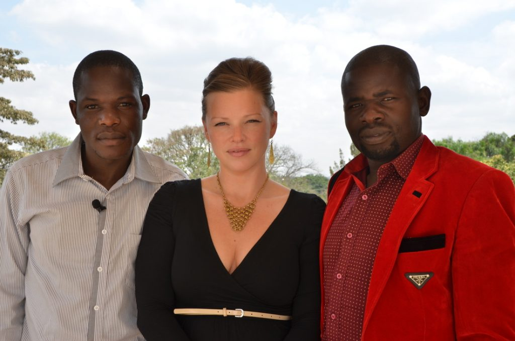 From left: Elijah Omadau, Marta Krajnik and Kennedy 'Ojiko' Odundo [Image: Courtesy of Kipato Unbranded]
