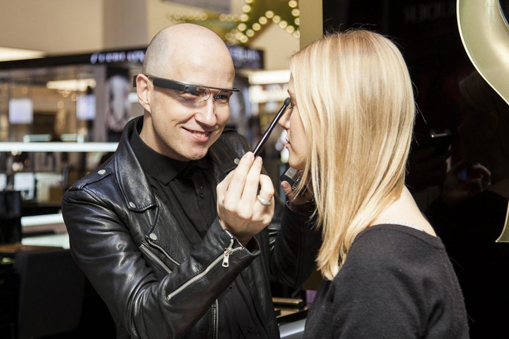 YSL x Google Glasses [Image: Courtesy of The Standard UK]