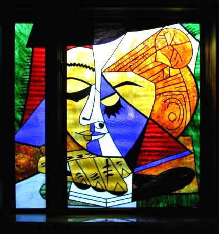 TD Stained Glass Picasso